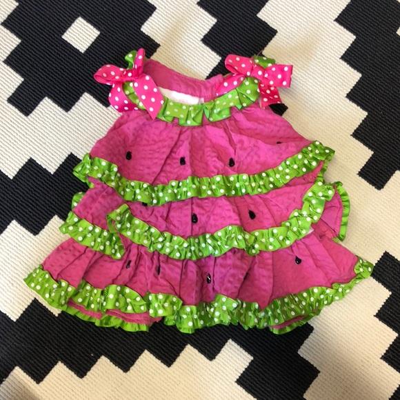 c14144511fba Bonnie Baby Dresses | Watermelon Dress For Infant | Poshmark
